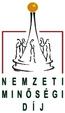 Nemzeti Minőségi Díj logo