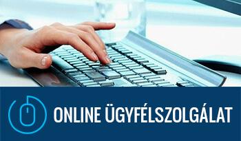 Online adminisztráció banner