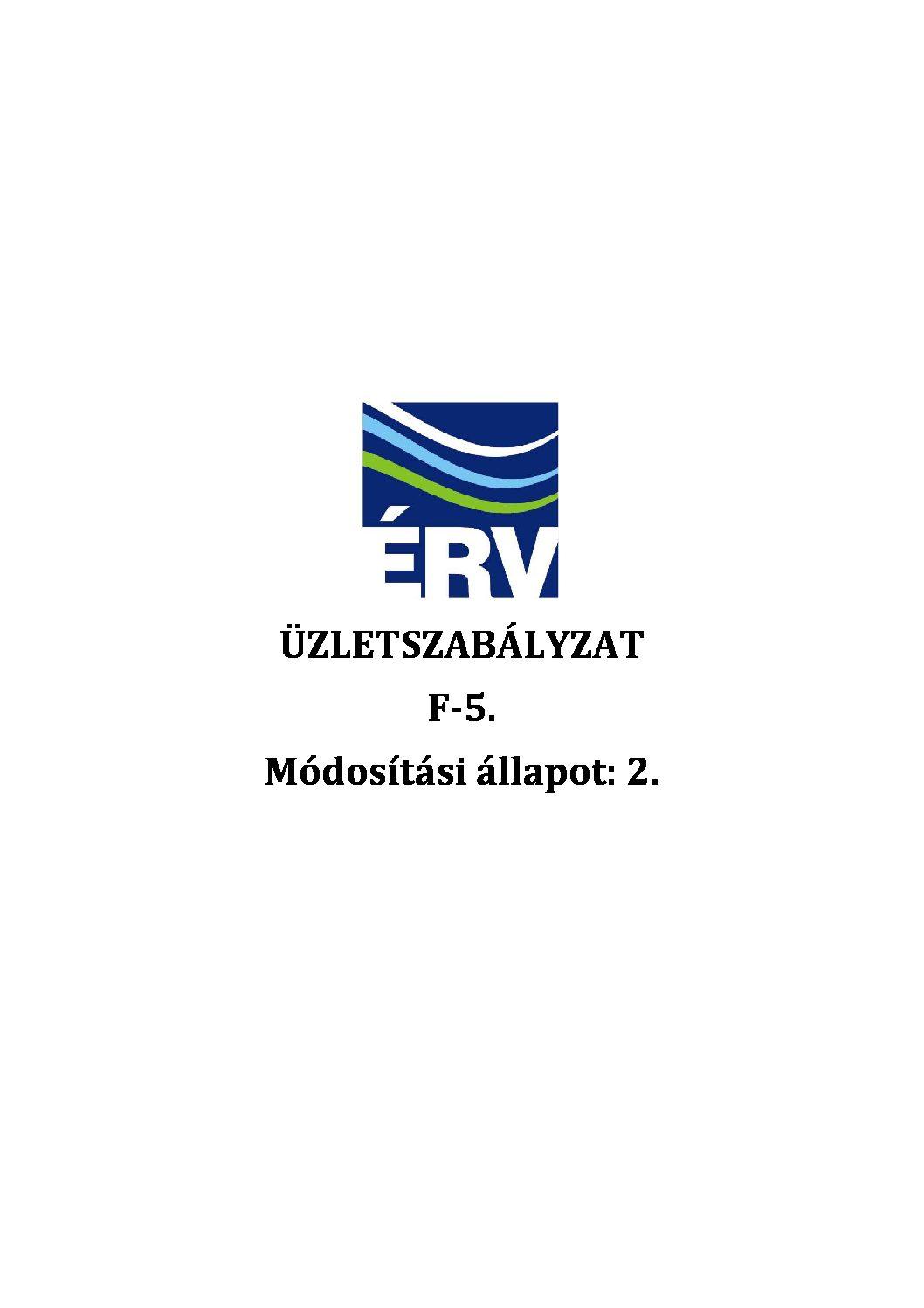 Üzletszabályzat-tervezet_ÉRV ZRt._201805