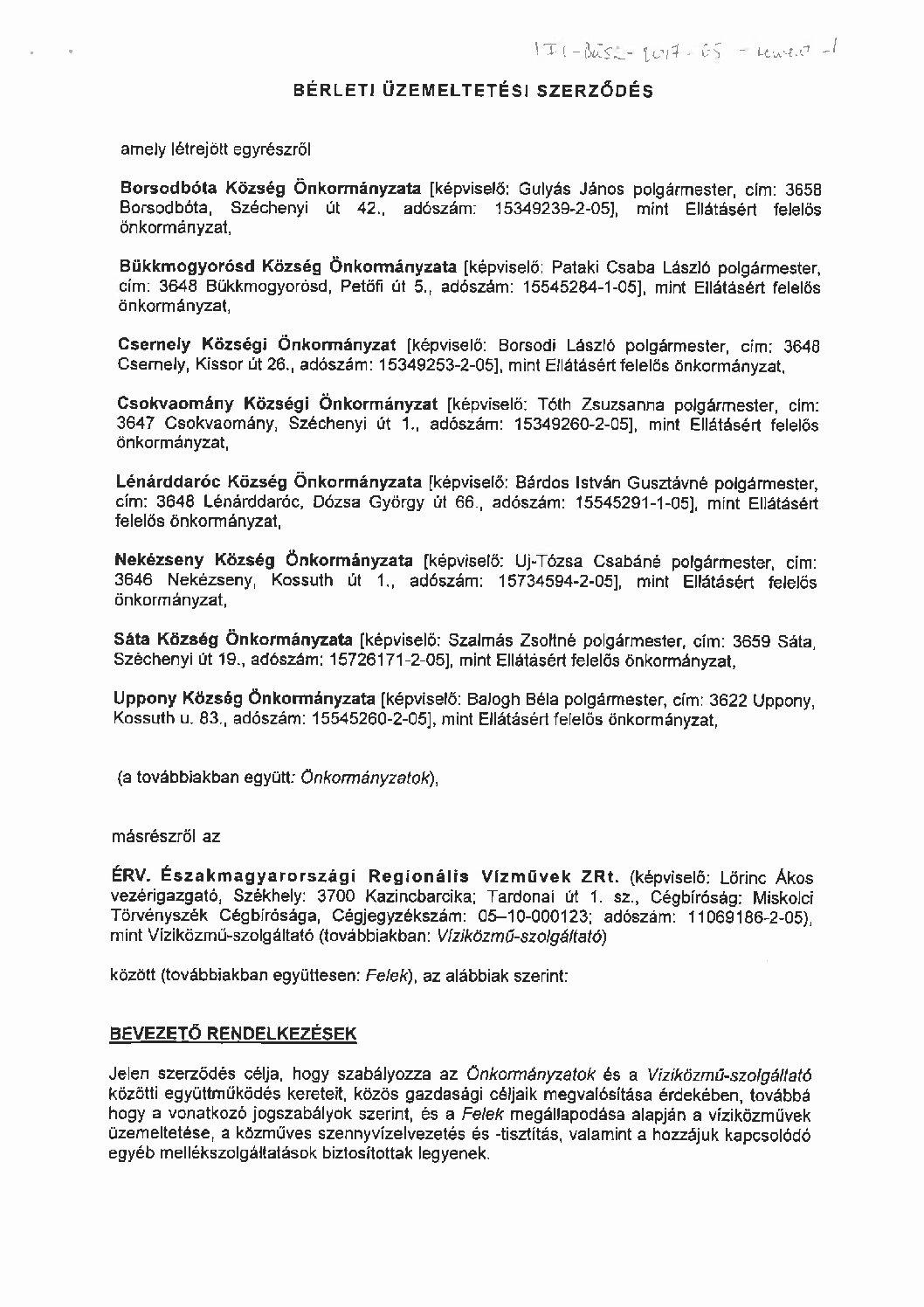 Borsodbót és társult települések szennyvízrendszer (SZ-36-B-1)